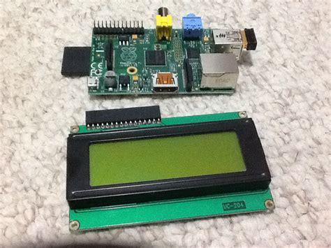 Tutorial Raspberry Pi Stack hardware connecting an lcd display to the raspberry pi raspberry pi stack exchange