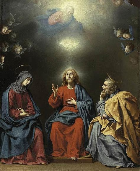 god wiki file carlo dolci the holy family with god the and