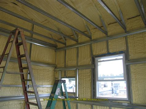 Metal Building Interior Walls by Steel Garage 11 866 943 2264