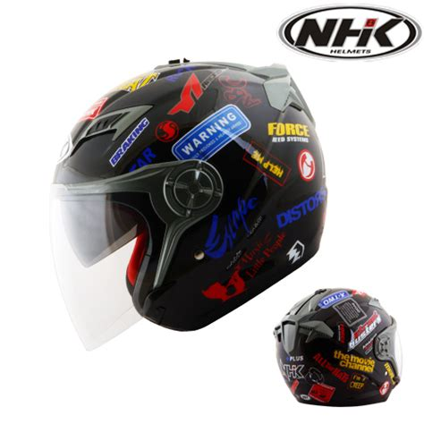 Helm Nhk Gladiator Sticker helm nhk gladiator sticker pabrikhelm jual helm murah