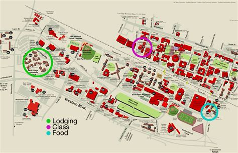ncsu map nc state centennial cus map images frompo 1