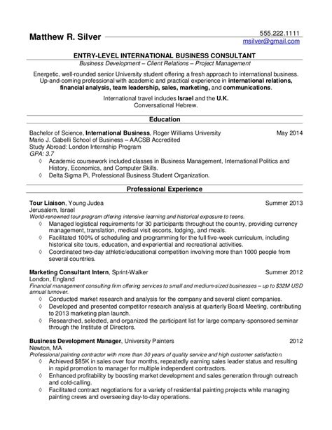 recent graduate resume template college student resume template