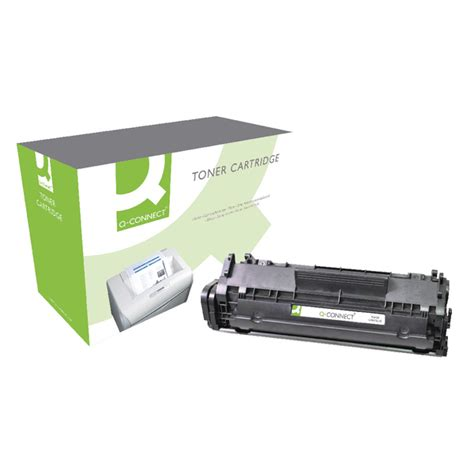 Toner Laserjet 12a q connect hp 12a reman black laserjet toner cartridge q2612a