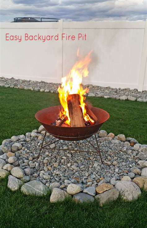 Diy Backyard Pit Ideas All The Accessories You Ll Need Diy Network Made Remade Easy Backyard Firepit