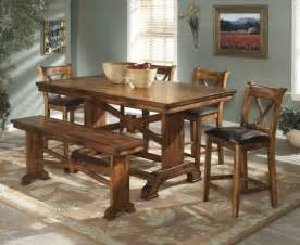 Modern Rustic Wood Dining Table » Home Design 2017
