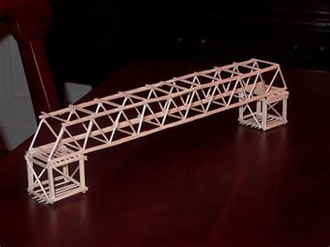 How To Make A Paper Bridge Without Glue - strongest toothpick bridge how to make a bridges