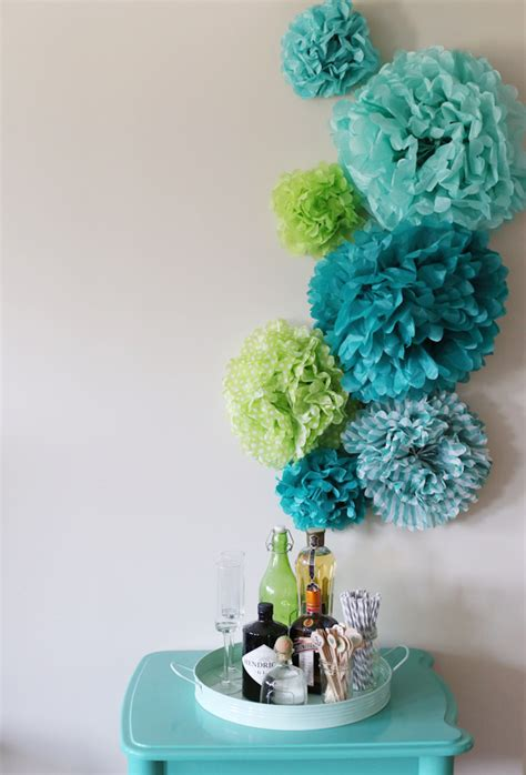 How To Make Tissue Paper Pom - diy tissue paper pom poms backdrop the sweetest occasion