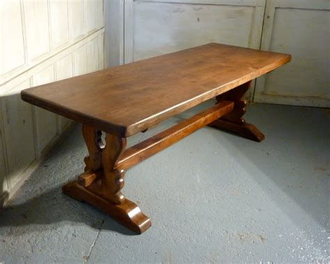 antique refectory table a 19th century oak refectory table 338390