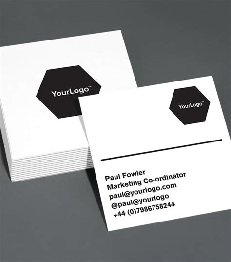 square business cards template browse square business card design templates moo united