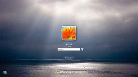 wallpaper rotator windows 7 window screens how to change windows 7 logon screen