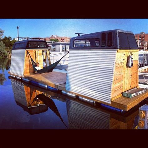 Handmade Houseboats - dyi houseboat in new york house boats