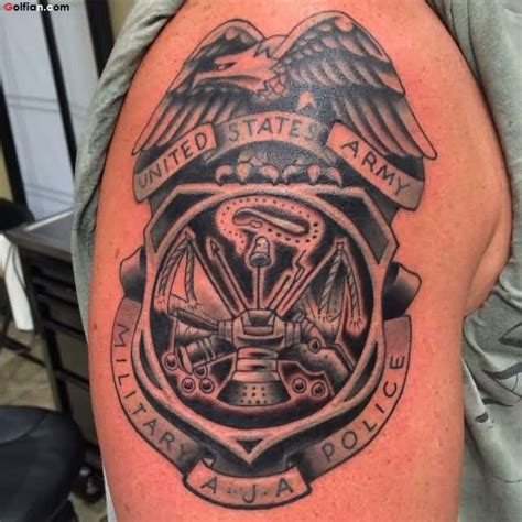 45 awesome army infantry tattoo art best army gun