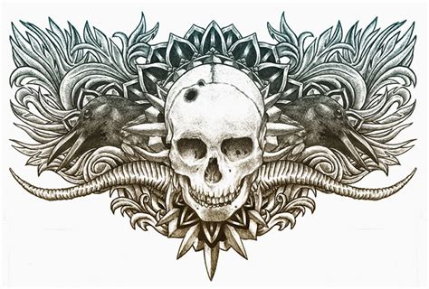 tattoo chest template 50 amazing fine art tattoo designs for your inspiration