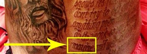 kd tattoos kevin durant s does not contain misspelled word pic