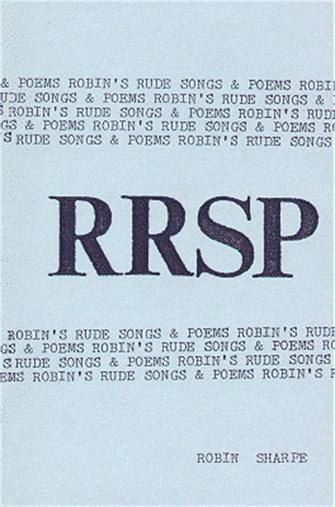 rude poems r r s p robin s rude songs and poems