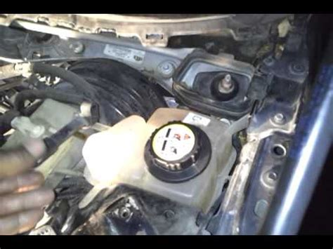 2000 lincoln ls coolant reservoir recovery tank on the 2001 lincoln ls v6
