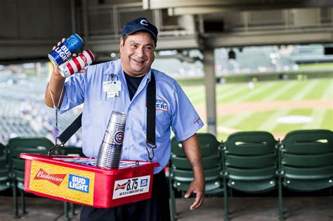 bud light vendor costume from where i see it wrigley field by the players tribune