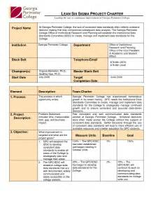 best photos of six sigma project template six sigma