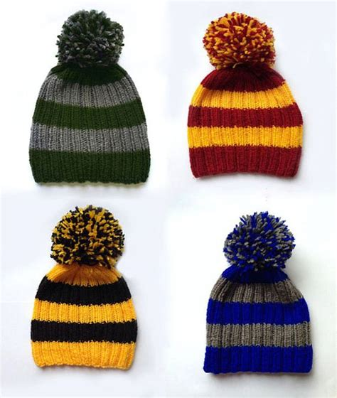 harry potter knit hat the world s catalog of ideas