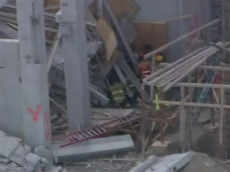 Miami Dade College Garage Collapse by Workers May Be Trapped In Rubble Of Collapsed Parking