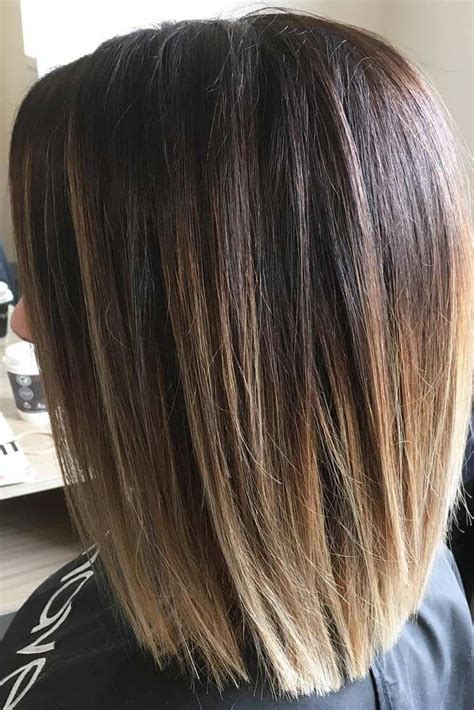 straight sholder length ombre hair 25 best ideas about medium thick hairstyles on pinterest