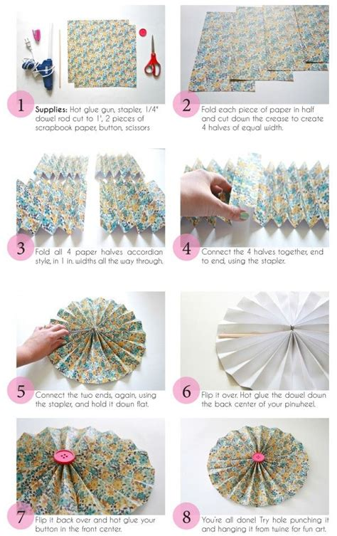 printable pinwheel instructions printable diy paper pinwheel tutorial dream green diy