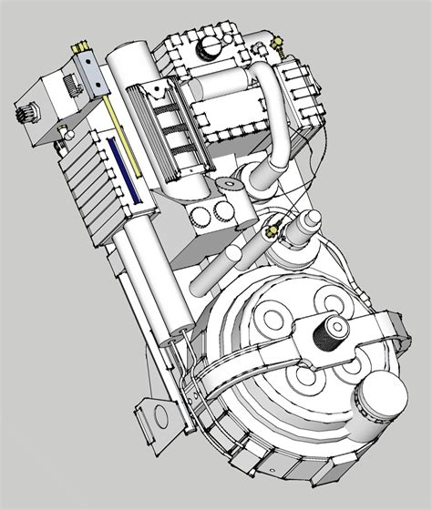 Ghostbusters Proton Pack Plans by Wardworks 2014 Ghostbuster