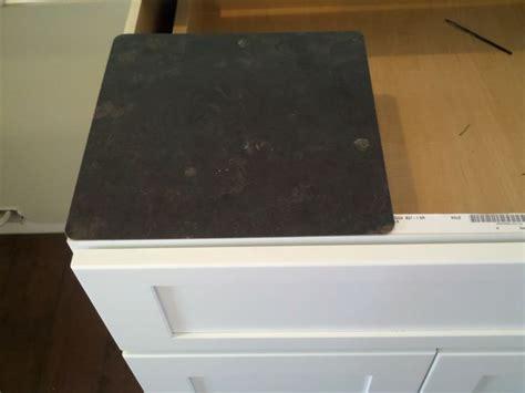 Formica 180fx laminate in Black Fossilstone   kitchens