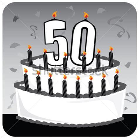 kerzen schwarz 50 birthday cake clipart clipart suggest