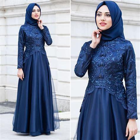 gaun pesta muslim hijabtuts