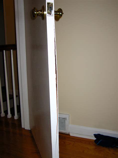 How Do I Repair This Interior Door Home Improvement Repair Interior Door