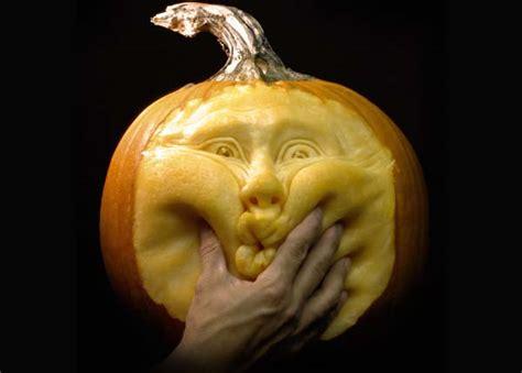 most expressive pumpkin face sculptures ever spicytec
