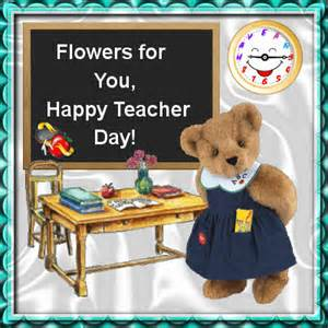 flowers for you free teachers day ecards greeting cards