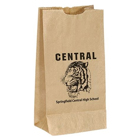Popcorn In Brown Paper Bag - promotional popcorn brown paper bag 13brp3 customized