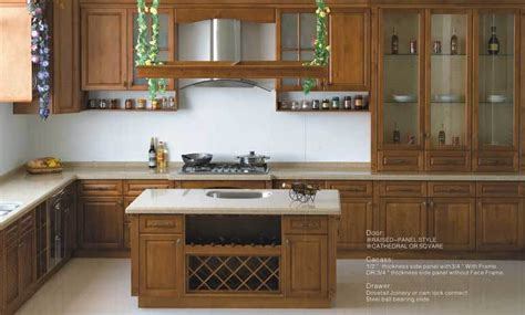 kitchen wooden furniture maple wood kitchen cabinets