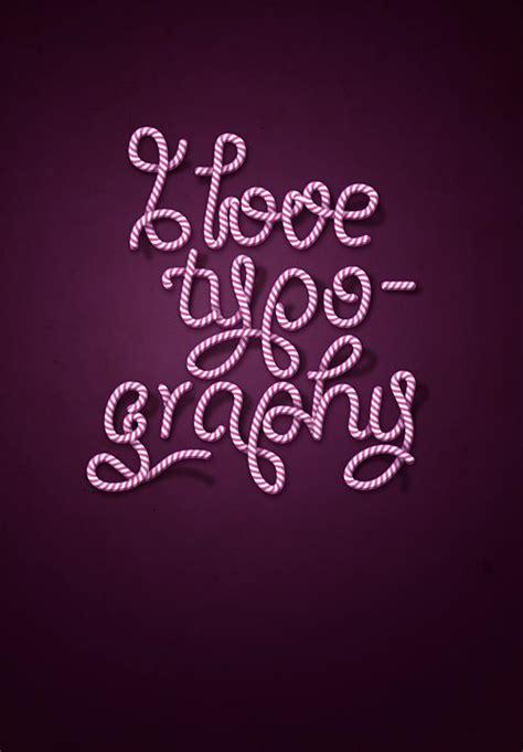 typography tutorial using illustrator candy photoshop tutorials psddude