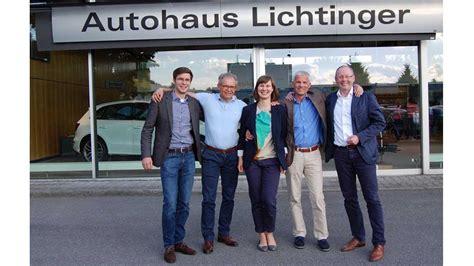 Auto Lichtinger by Ostermaier 252 Bernimmt Mehrheit Von Lichtinger Autohaus De