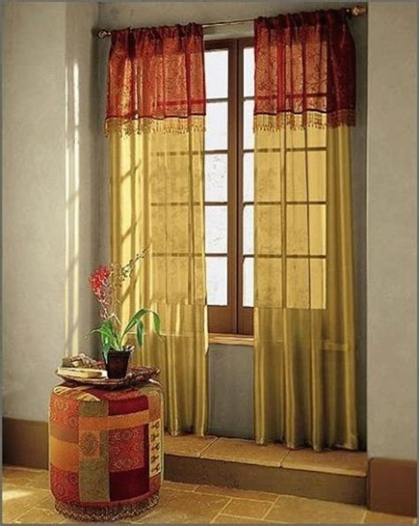 Red And Gold Curtains Furniture Ideas Deltaangelgroup