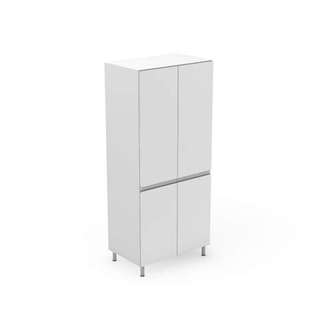 Height Pantry Cabinet by 4 Door Pantry With Split At Benchtop Height Shadowline