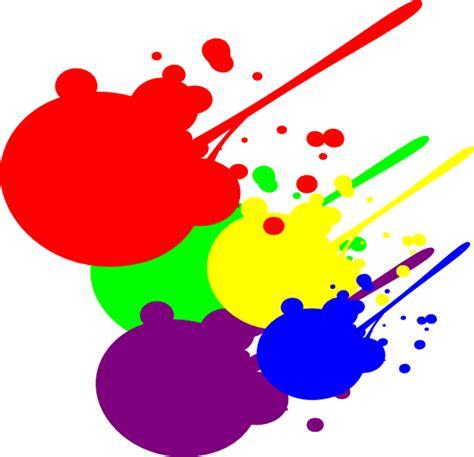 paint colors clipart paint splatter clip at clker vector clip
