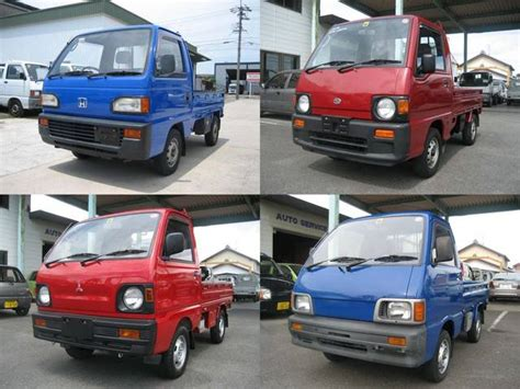 Suzuki Hijet For Sale 7 Japanese Mini Trucks Suzuki Carry Subaru Sambar Daihatsu