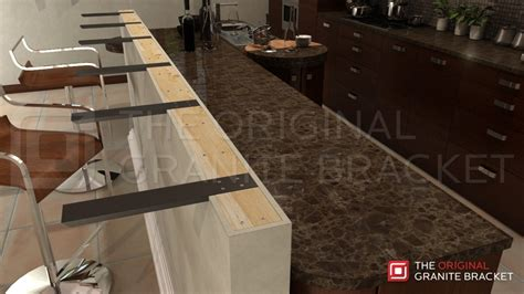 Supports For Granite Countertops by Countertop Support Bracket Steel Bracket Kitchen Bar Top