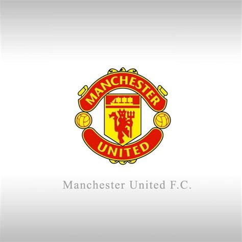 wallpaper dinding manchester united manchester united logo wallpapers wallpaper cave