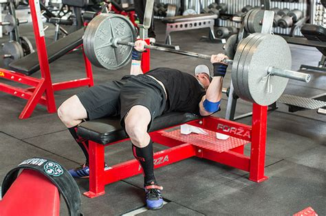 most weight bench pressed how to bench press the complete guide