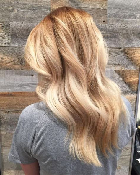 best medium length blonde style for fair warm skin tone but heavy body shape 50 best balayage hair colour ideas 2018 full collection