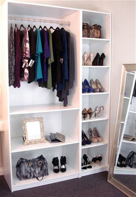shelves for clothes in bedroom best 25 ikea single wardrobe ideas on pinterest