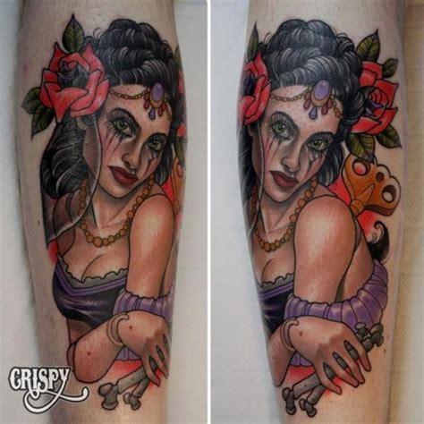 new school gypsy tattoo gypsy tattoo images designs