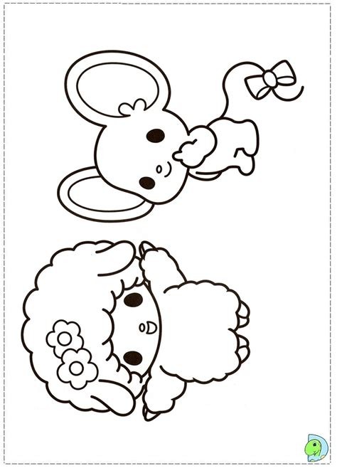 my melody coloring pages free coloring pages of my melody and kuromi