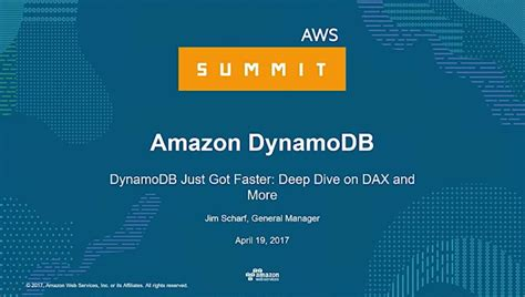 amazon dynamodb amazon dynamodb accelerator dax fully managed in