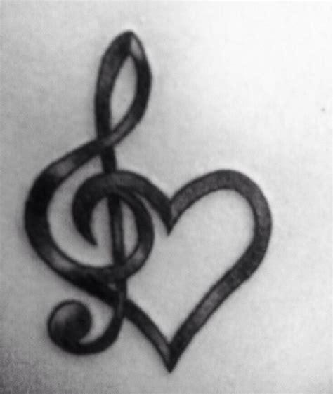 treble clef heart tattoo best 25 tattoos ideas on flower